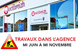 Travaux agence